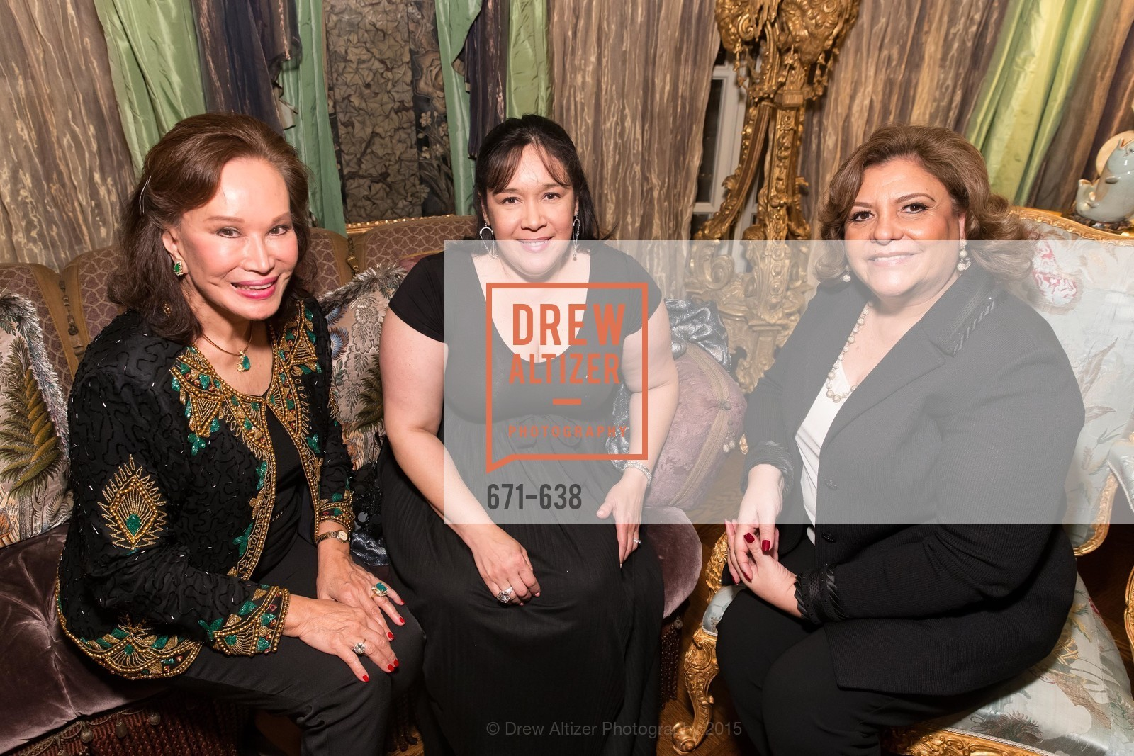 Martha Hertelendy, Tiesay Lugo, Candy Chavez, San Francisco Mayor's Office of Protocol Christmas Party, Private Residence, December 9th, 2015,Drew Altizer, Drew Altizer Photography, full-service event agency, private events, San Francisco photographer, photographer California