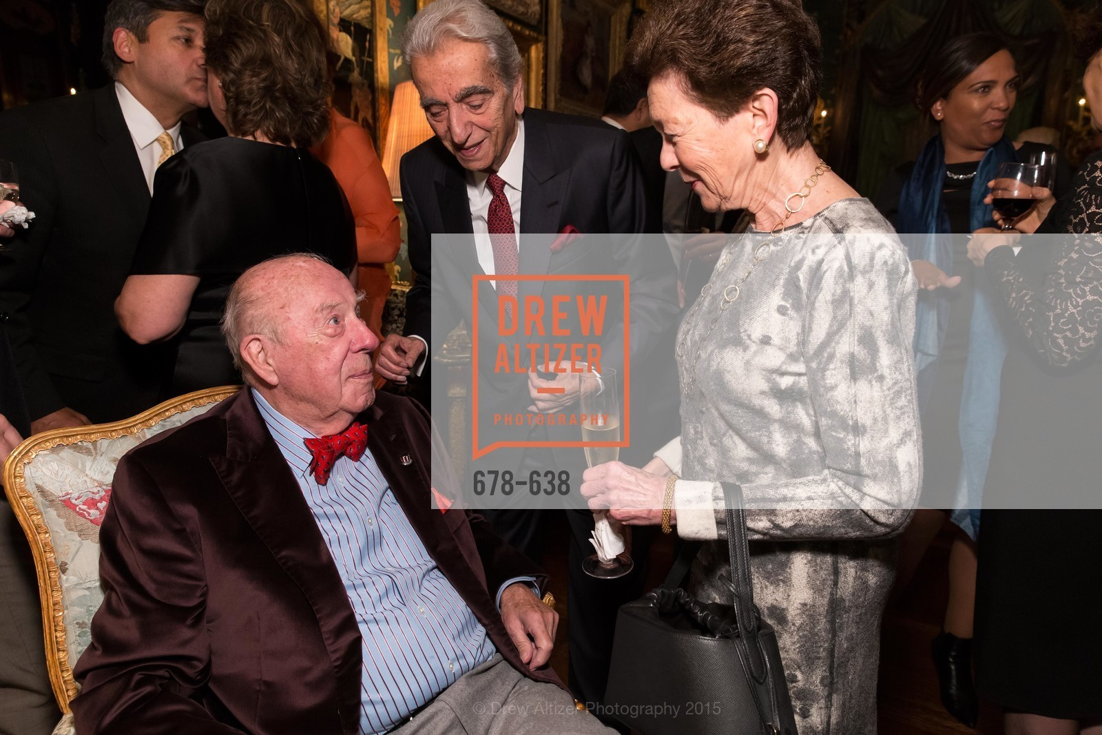 George Shultz, Roselyne Swig, San Francisco Mayor's Office of Protocol Christmas Party, Private Residence, December 9th, 2015,Drew Altizer, Drew Altizer Photography, full-service event agency, private events, San Francisco photographer, photographer California