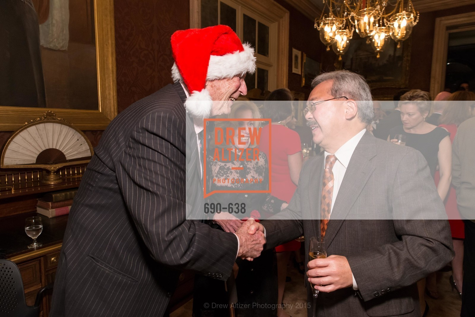 Edgar Osgood, Jojo Osgood, Ed Lee, San Francisco Mayor's Office of Protocol Christmas Party, Private Residence, December 9th, 2015,Drew Altizer, Drew Altizer Photography, full-service event agency, private events, San Francisco photographer, photographer California