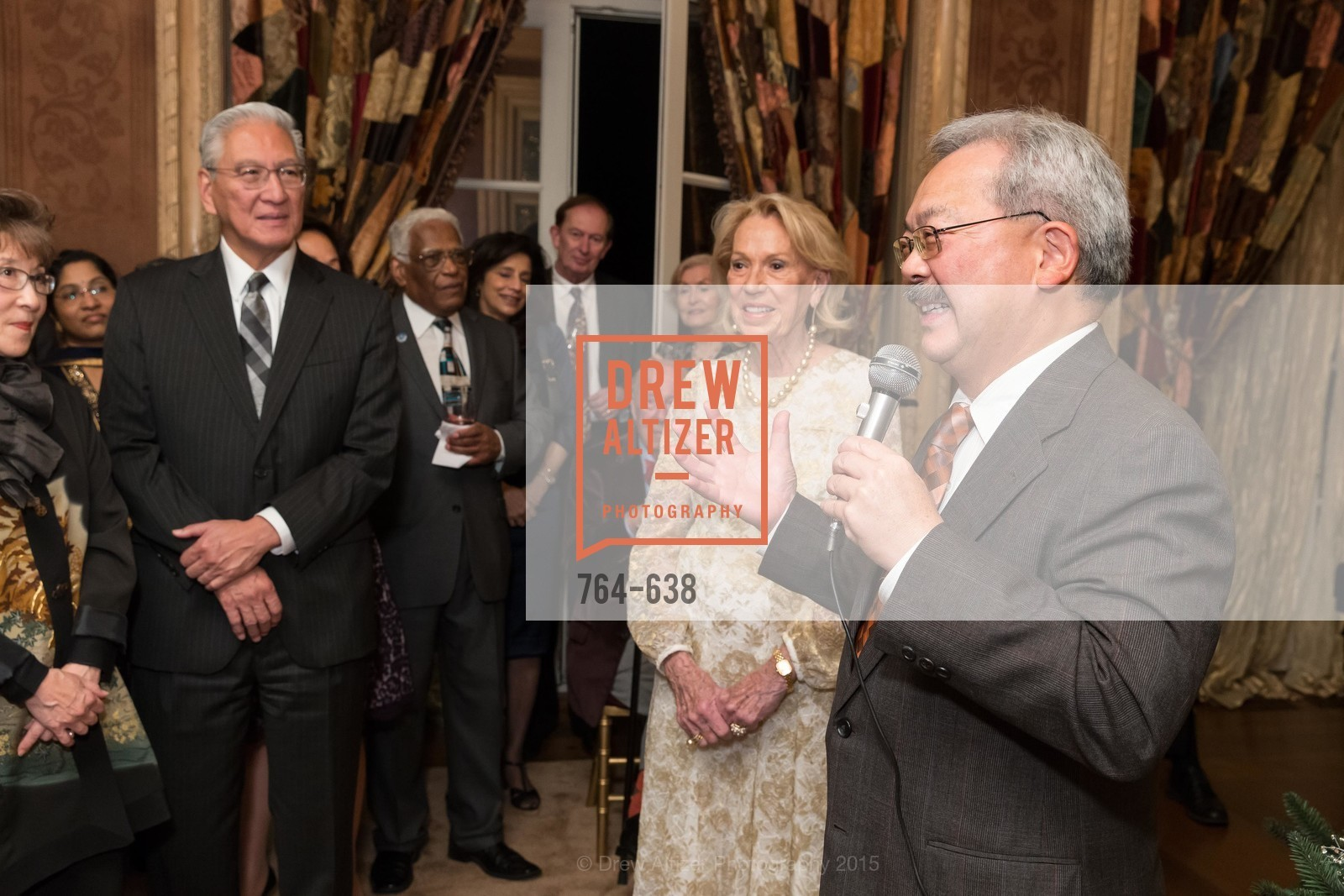 Charlotte Shultz, Ed Lee, San Francisco Mayor's Office of Protocol Christmas Party, Private Residence, December 9th, 2015,Drew Altizer, Drew Altizer Photography, full-service agency, private events, San Francisco photographer, photographer california