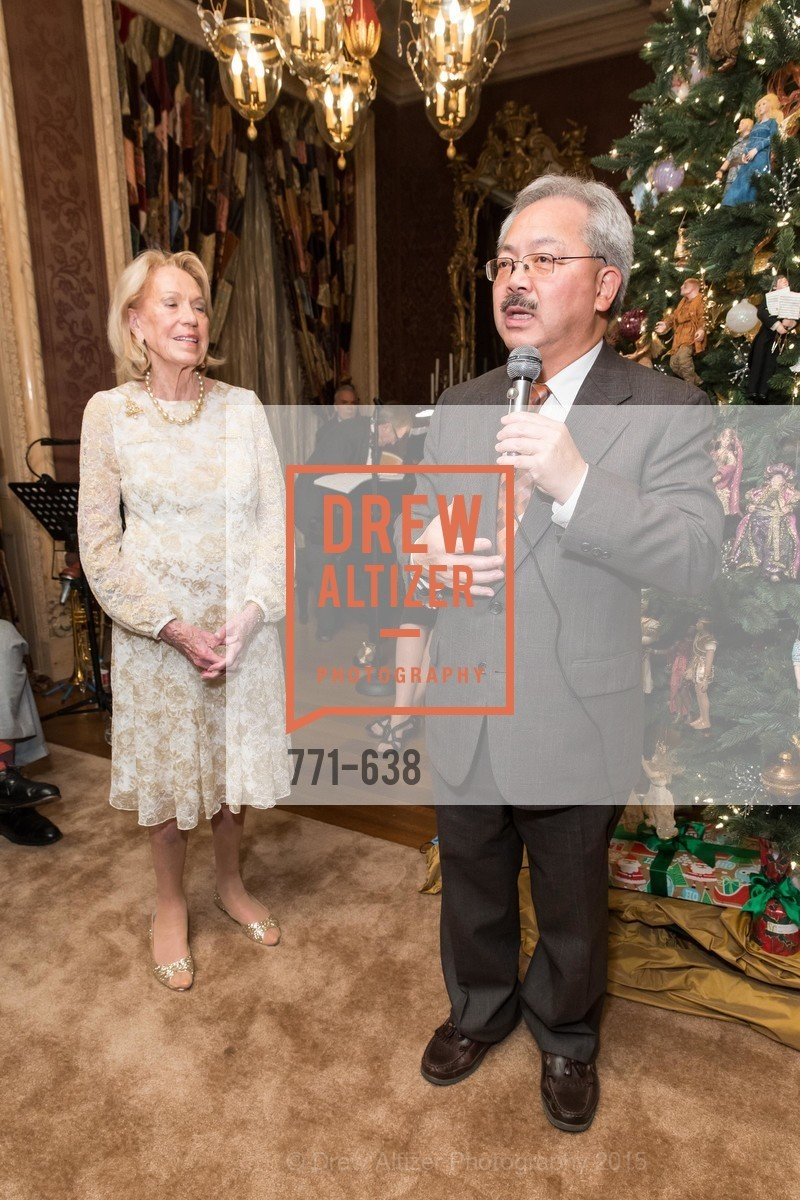 Charlotte Shultz, Ed Lee, San Francisco Mayor's Office of Protocol Christmas Party, Private Residence, December 9th, 2015,Drew Altizer, Drew Altizer Photography, full-service event agency, private events, San Francisco photographer, photographer California