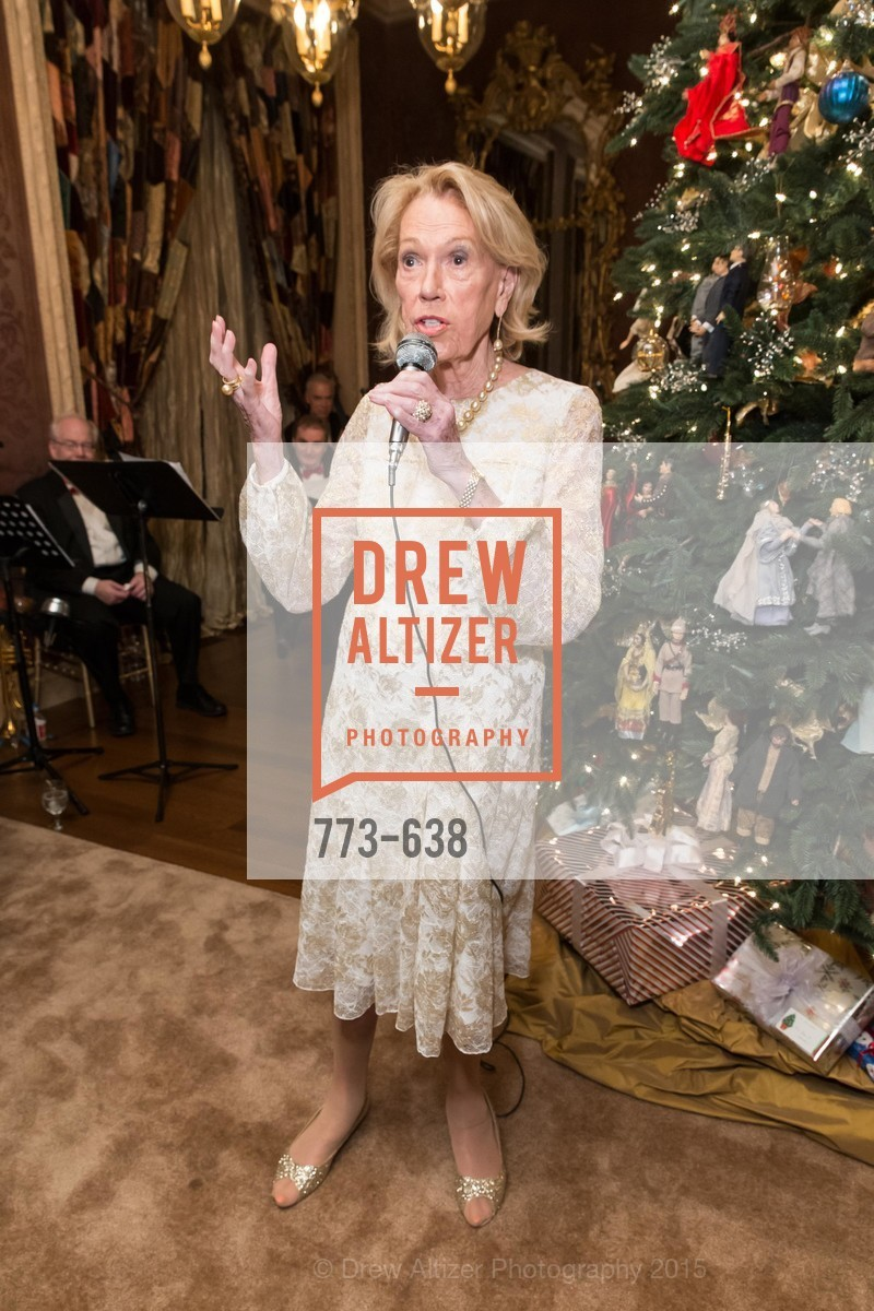 Charlotte Shultz, San Francisco Mayor's Office of Protocol Christmas Party, Private Residence, December 9th, 2015