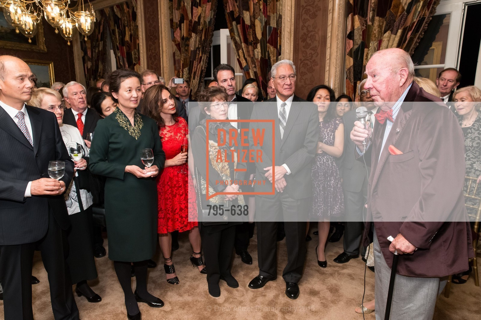 George Shultz, San Francisco Mayor's Office of Protocol Christmas Party, Private Residence, December 9th, 2015,Drew Altizer, Drew Altizer Photography, full-service agency, private events, San Francisco photographer, photographer california