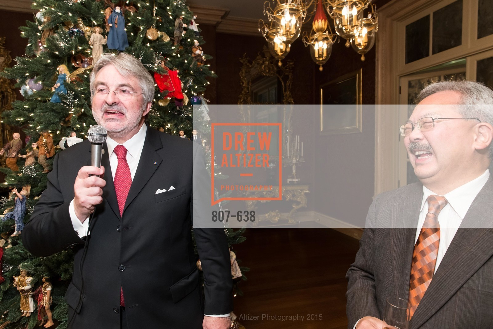 George Schmit, Ed Lee, San Francisco Mayor's Office of Protocol Christmas Party, Private Residence, December 9th, 2015,Drew Altizer, Drew Altizer Photography, full-service event agency, private events, San Francisco photographer, photographer California
