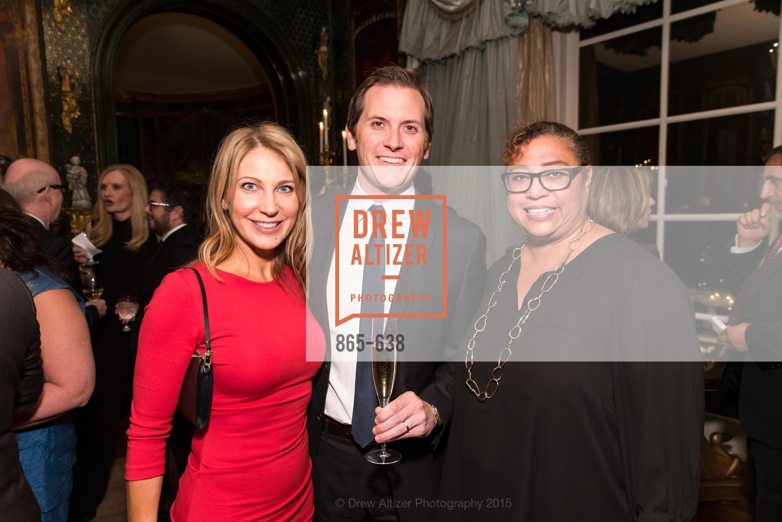 Karin Johnston, Parker Gundersen, Alicia Bert, San Francisco Mayor's Office of Protocol Christmas Party, Private Residence, December 9th, 2015,Drew Altizer, Drew Altizer Photography, full-service agency, private events, San Francisco photographer, photographer california