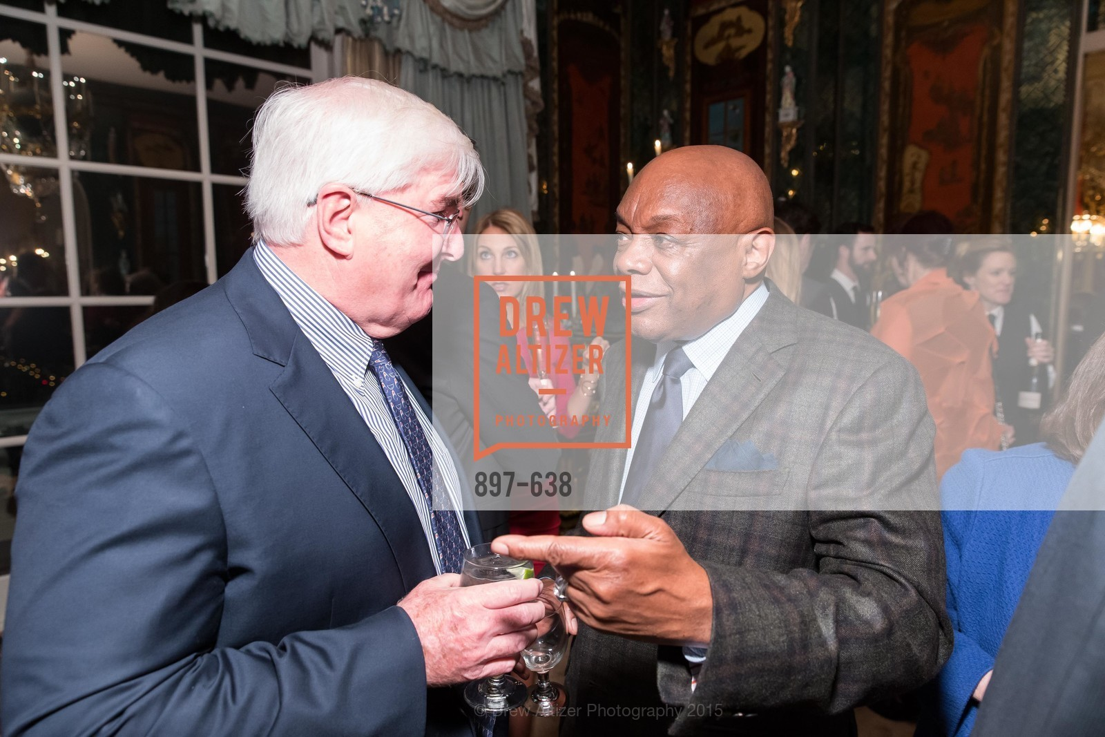 Ron Conway, Willie Brown, San Francisco Mayor's Office of Protocol Christmas Party, Private Residence, December 9th, 2015,Drew Altizer, Drew Altizer Photography, full-service agency, private events, San Francisco photographer, photographer california