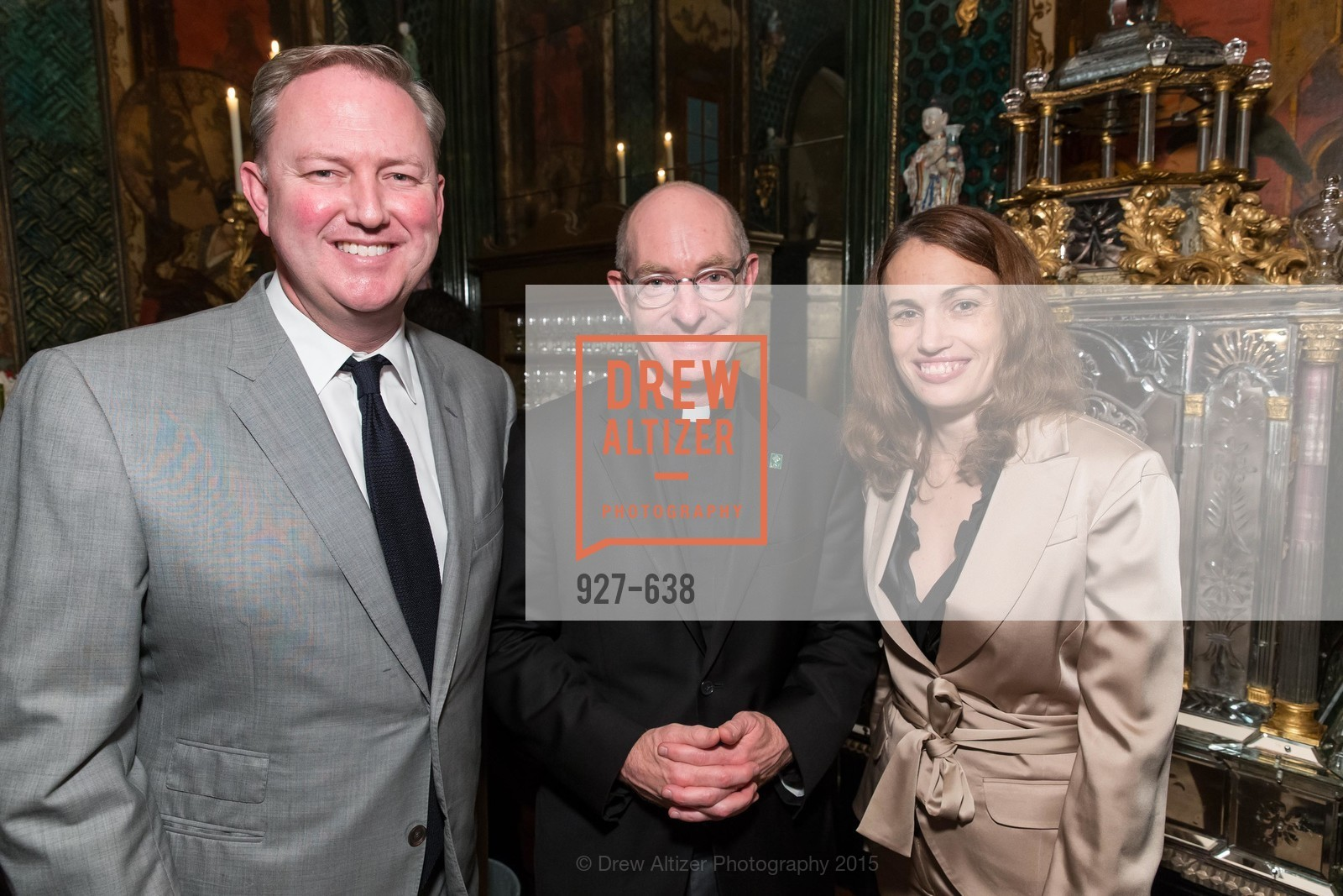Chris Gruwell, Paul Fitzgerald, Lisa Gruwell, San Francisco Mayor's Office of Protocol Christmas Party, Private Residence, December 9th, 2015,Drew Altizer, Drew Altizer Photography, full-service agency, private events, San Francisco photographer, photographer california