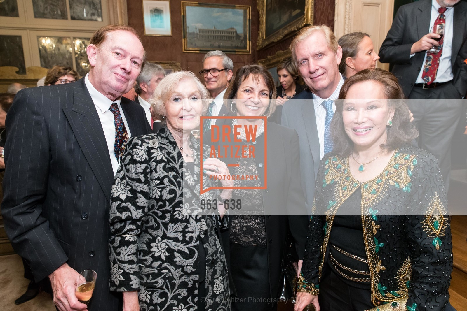 Paul Voisin, Eva Voisin, George Norton, Martha Hertelendy, San Francisco Mayor's Office of Protocol Christmas Party, Private Residence, December 9th, 2015,Drew Altizer, Drew Altizer Photography, full-service agency, private events, San Francisco photographer, photographer california
