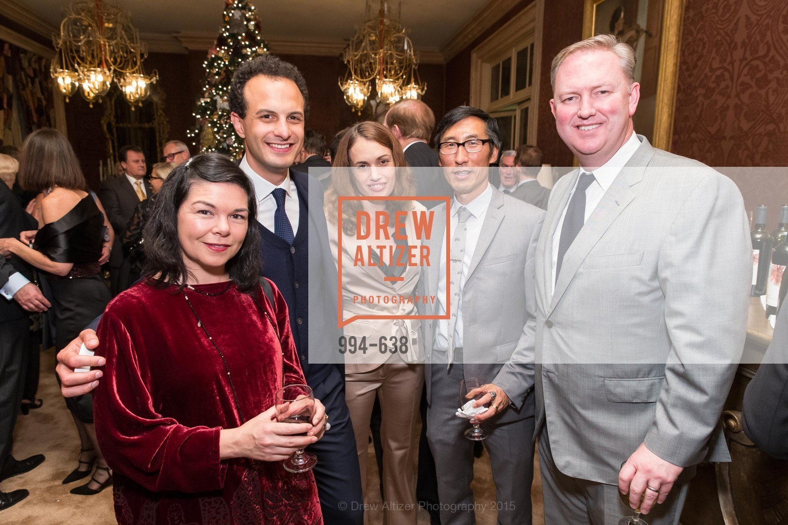 Tracy Teraoka, Nicholas Josefowitz, Eric Mar, Chris Gruwell, San Francisco Mayor's Office of Protocol Christmas Party, Private Residence, December 9th, 2015,Drew Altizer, Drew Altizer Photography, full-service agency, private events, San Francisco photographer, photographer california