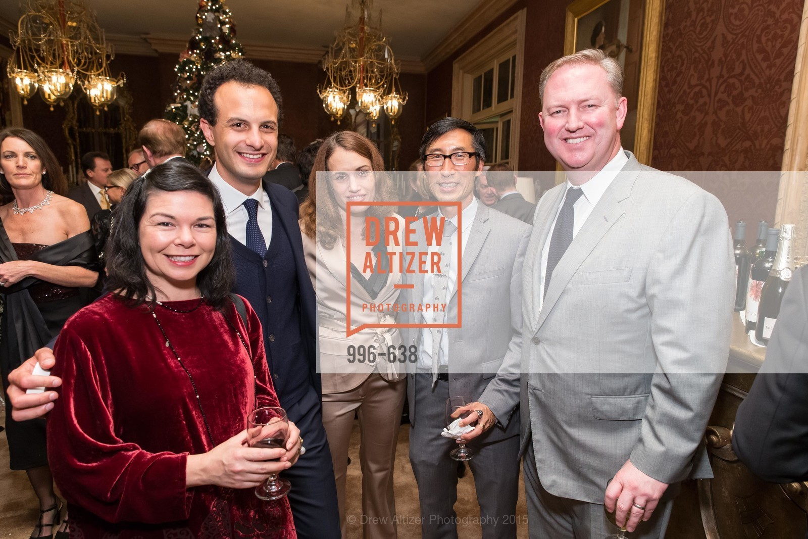 Tracy Teraoka, Nicholas Josefowitz, Eric Mar, Chris Gruwell, San Francisco Mayor's Office of Protocol Christmas Party, Private Residence, December 9th, 2015,Drew Altizer, Drew Altizer Photography, full-service event agency, private events, San Francisco photographer, photographer California