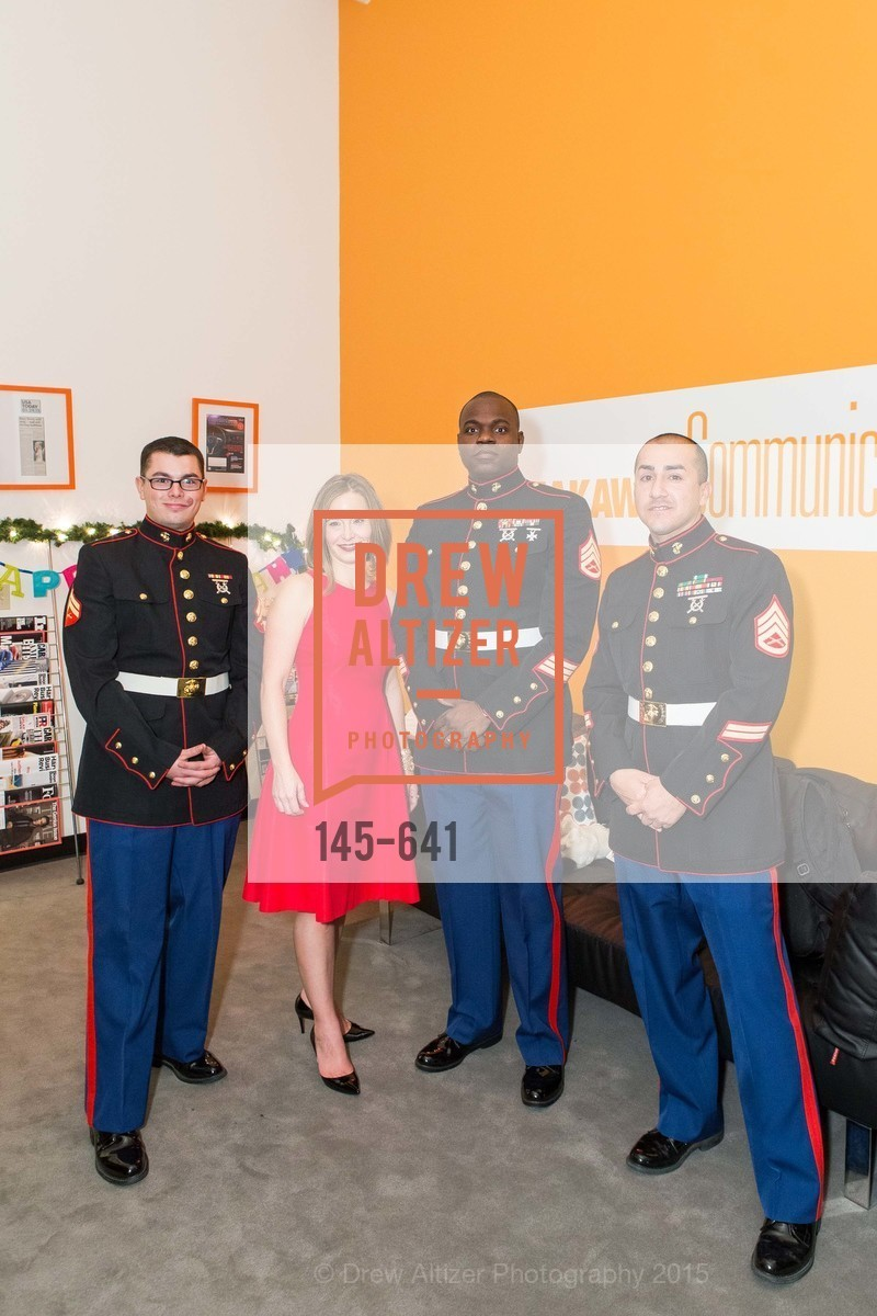 Alex Olson, Mylea Charvat, Fredrick Worley, Joseph Ortiz, Savonix Launch Celebration and Toys for Tots Benefit, Savonix. 300 Broadway, Suite 14, December 10th, 2015,Drew Altizer, Drew Altizer Photography, full-service agency, private events, San Francisco photographer, photographer california