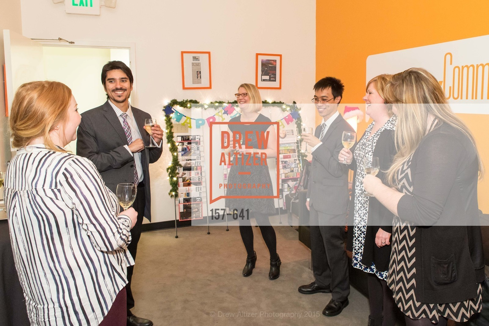 Estevan Aguayo, Meredith McNeill, Stanley Seato, Barb Hagin, Savonix Launch Celebration and Toys for Tots Benefit, Savonix. 300 Broadway, Suite 14, December 10th, 2015,Drew Altizer, Drew Altizer Photography, full-service agency, private events, San Francisco photographer, photographer california