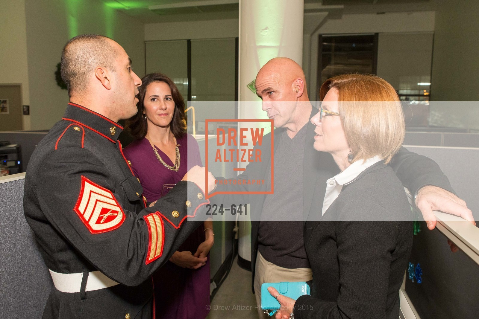 Joseph Ortiz, Jackie Space, Pete Newell, Vianne Newell, Savonix Launch Celebration and Toys for Tots Benefit, Savonix. 300 Broadway, Suite 14, December 10th, 2015,Drew Altizer, Drew Altizer Photography, full-service agency, private events, San Francisco photographer, photographer california