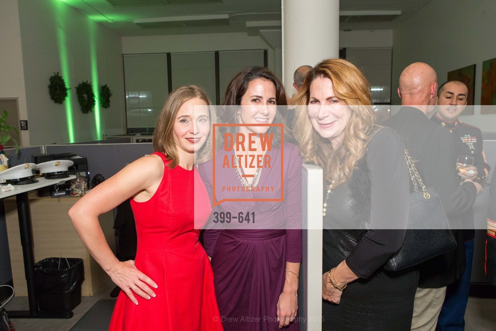 Mylea Charvat, Jackie Space, Patricia Ferrin Loucks, Savonix Launch Celebration and Toys for Tots Benefit, Savonix. 300 Broadway, Suite 14, December 10th, 2015,Drew Altizer, Drew Altizer Photography, full-service agency, private events, San Francisco photographer, photographer california