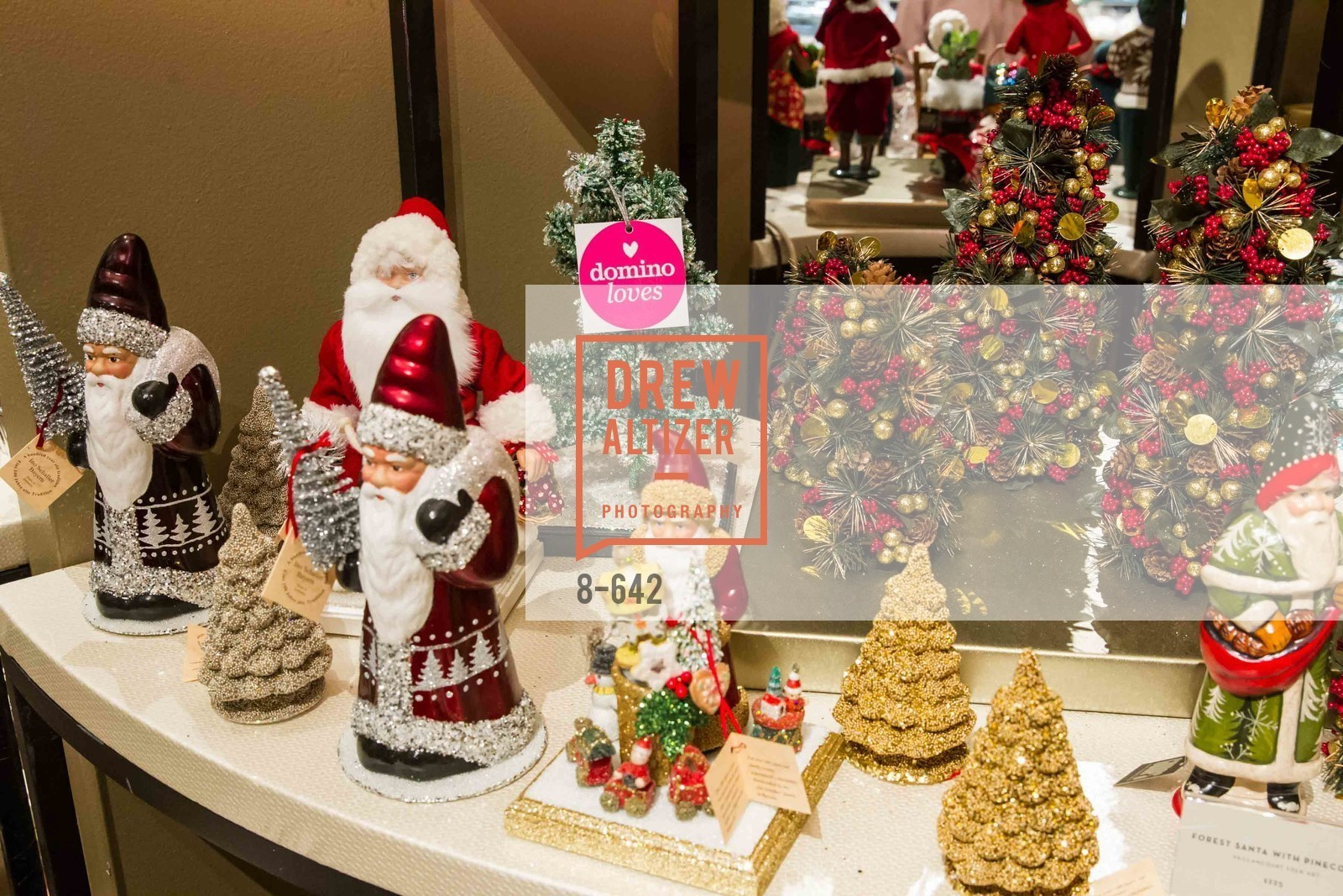 Atmosphere, Private Holiday Shopping Night presented by Gump's and Domino magazine, Gump's. 135 Post Street, December 10th, 2015,Drew Altizer, Drew Altizer Photography, full-service agency, private events, San Francisco photographer, photographer california