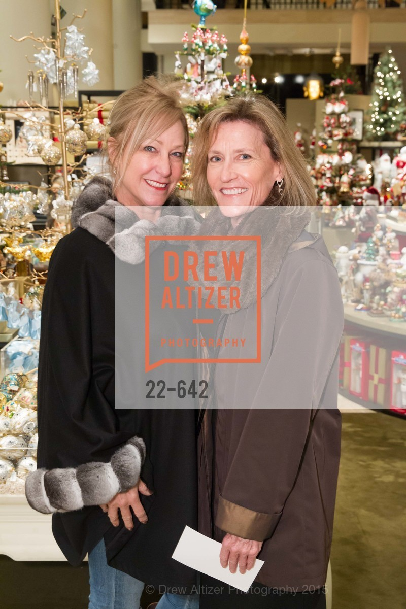 Debbie Crismani, Dana Garrick, Private Holiday Shopping Night presented by Gump's and Domino magazine, Gump's. 135 Post Street, December 10th, 2015,Drew Altizer, Drew Altizer Photography, full-service agency, private events, San Francisco photographer, photographer california