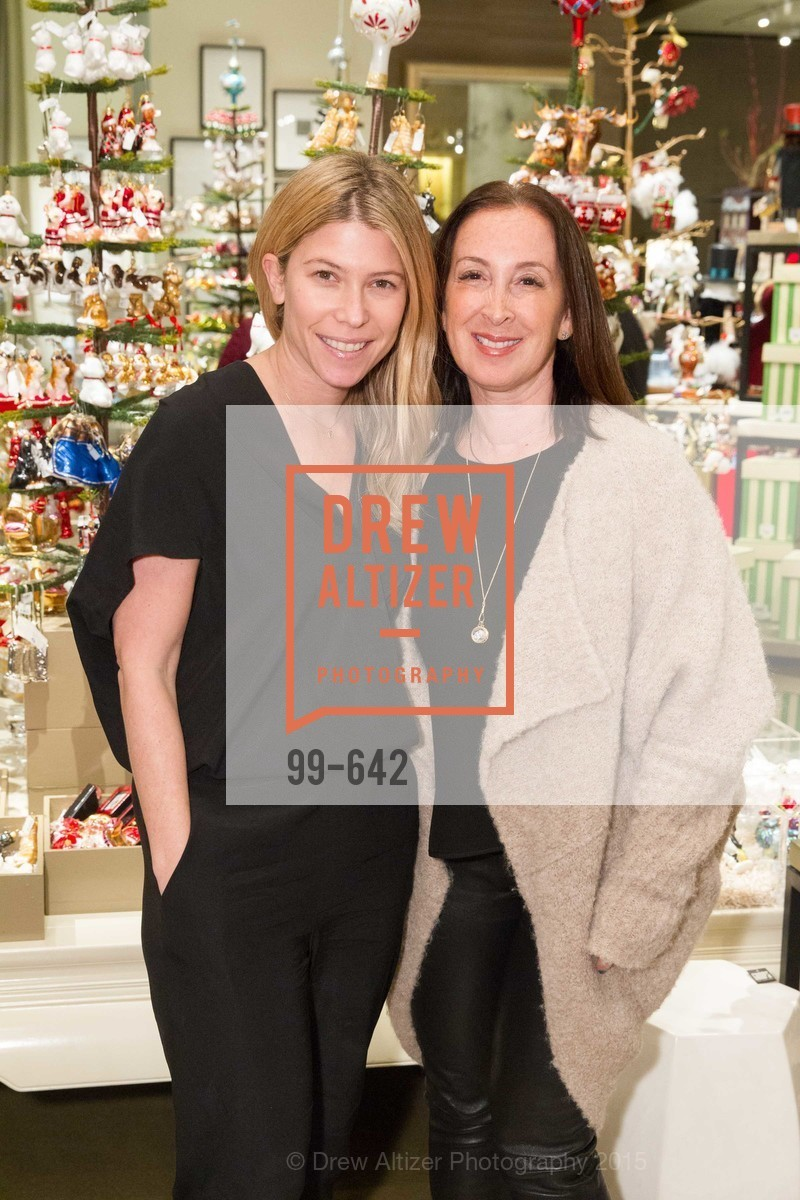 Jessica Romm, Beth Brenner, Private Holiday Shopping Night presented by Gump's and Domino magazine, Gump's. 135 Post Street, December 10th, 2015,Drew Altizer, Drew Altizer Photography, full-service agency, private events, San Francisco photographer, photographer california