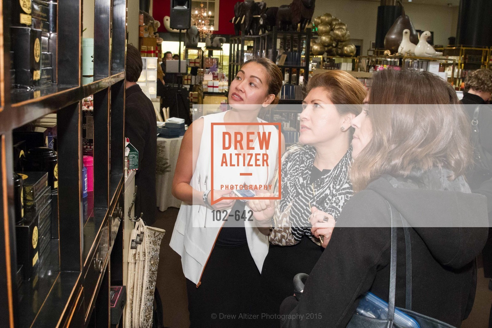 Marybelle Mora, Private Holiday Shopping Night presented by Gump's and Domino magazine, Gump's. 135 Post Street, December 10th, 2015,Drew Altizer, Drew Altizer Photography, full-service agency, private events, San Francisco photographer, photographer california