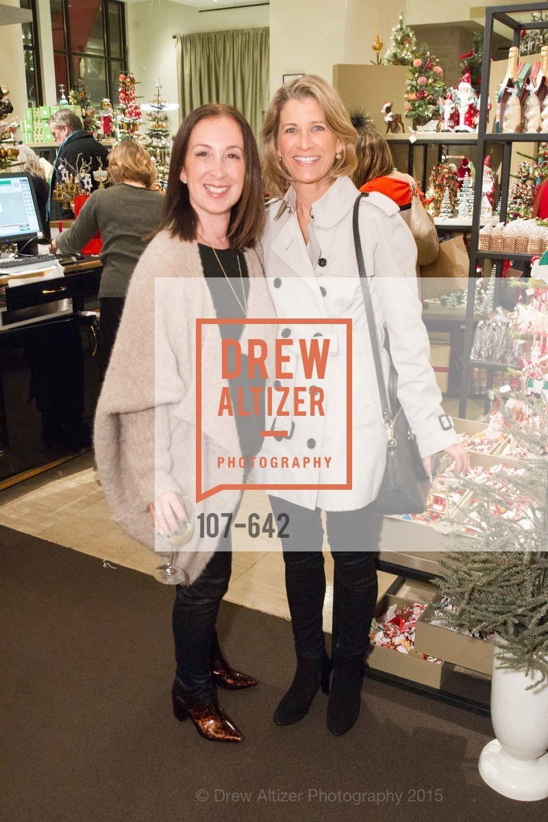 Beth Brenner, Mary Torchio, Private Holiday Shopping Night presented by Gump's and Domino magazine, Gump's. 135 Post Street, December 10th, 2015,Drew Altizer, Drew Altizer Photography, full-service agency, private events, San Francisco photographer, photographer california