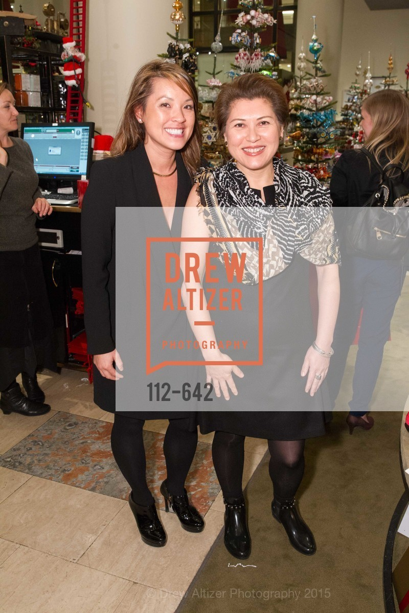 Sandy Young, Marybelle Mora, Private Holiday Shopping Night presented by Gump's and Domino magazine, Gump's. 135 Post Street, December 10th, 2015,Drew Altizer, Drew Altizer Photography, full-service agency, private events, San Francisco photographer, photographer california