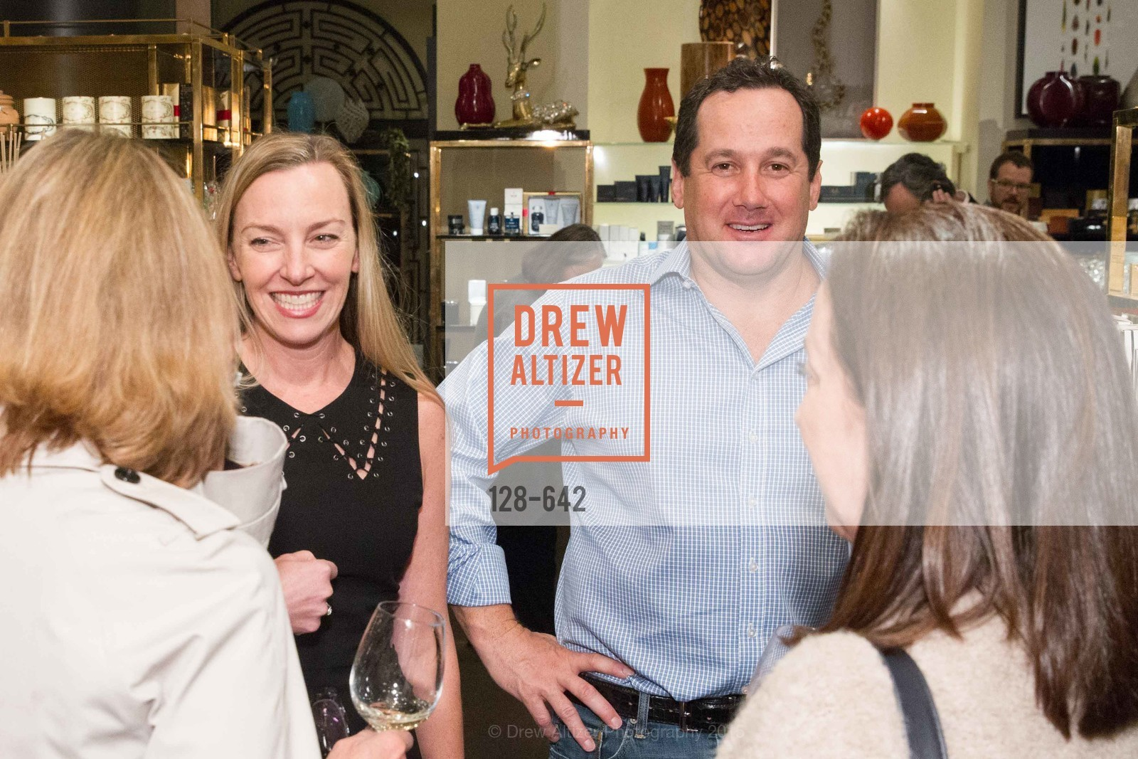 Megan Toohey, Richard Toohey, Private Holiday Shopping Night presented by Gump's and Domino magazine, Gump's. 135 Post Street, December 10th, 2015,Drew Altizer, Drew Altizer Photography, full-service event agency, private events, San Francisco photographer, photographer California