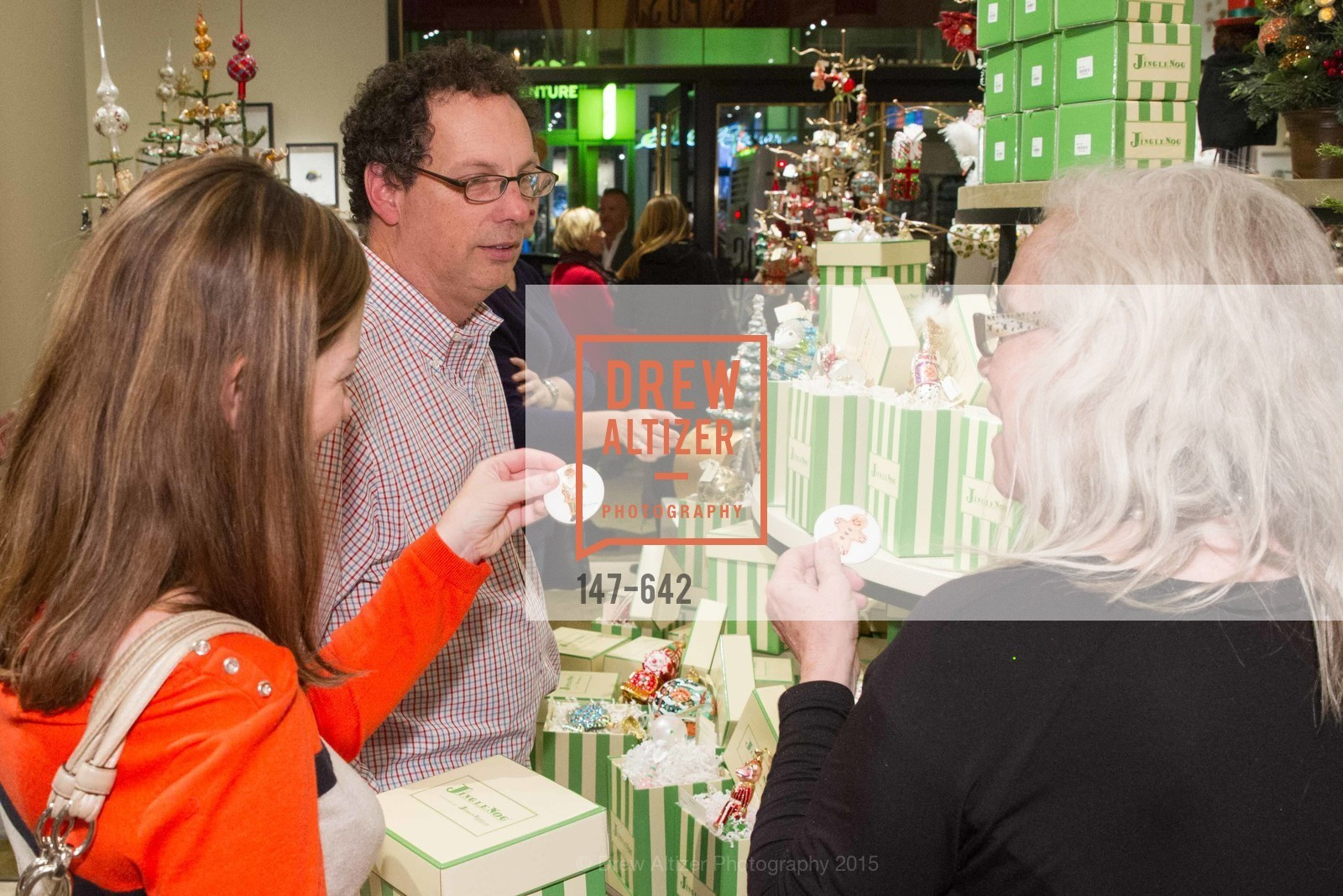 Top Picks, Private Holiday Shopping Night presented by Gump's and Domino magazine, December 10th, 2015, Photo,Drew Altizer, Drew Altizer Photography, full-service agency, private events, San Francisco photographer, photographer california