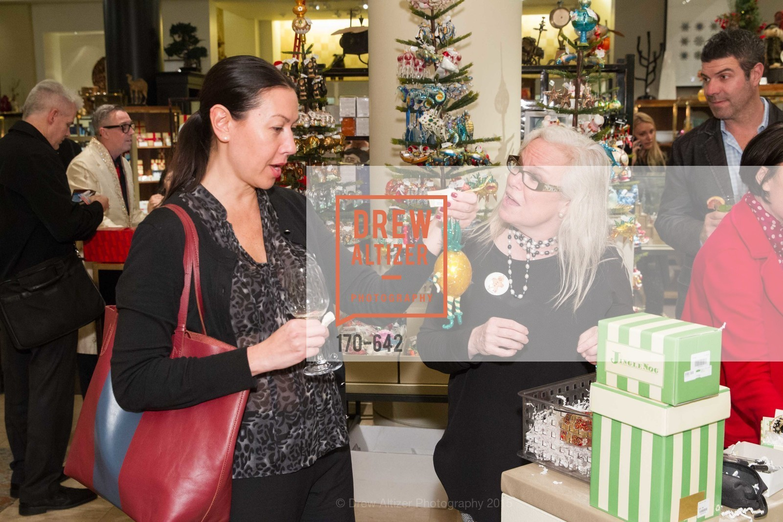 Melissa Byrne, Private Holiday Shopping Night presented by Gump's and Domino magazine, Gump's. 135 Post Street, December 10th, 2015,Drew Altizer, Drew Altizer Photography, full-service event agency, private events, San Francisco photographer, photographer California