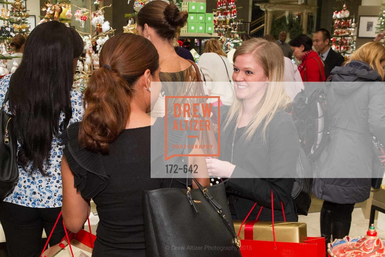 Jessica Brown, Private Holiday Shopping Night presented by Gump's and Domino magazine, Gump's. 135 Post Street, December 10th, 2015,Drew Altizer, Drew Altizer Photography, full-service agency, private events, San Francisco photographer, photographer california