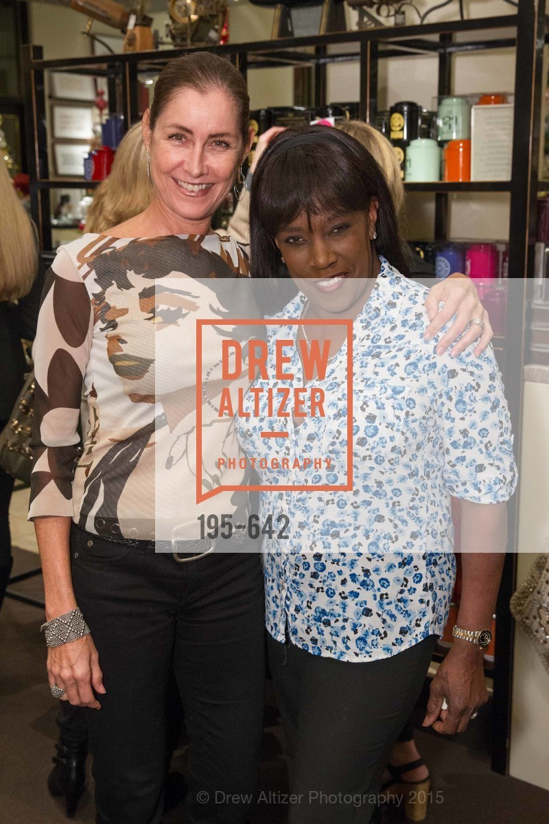 Yvonne Schellerup, Diane Laster-Heathmen, Private Holiday Shopping Night presented by Gump's and Domino magazine, Gump's. 135 Post Street, December 10th, 2015,Drew Altizer, Drew Altizer Photography, full-service agency, private events, San Francisco photographer, photographer california