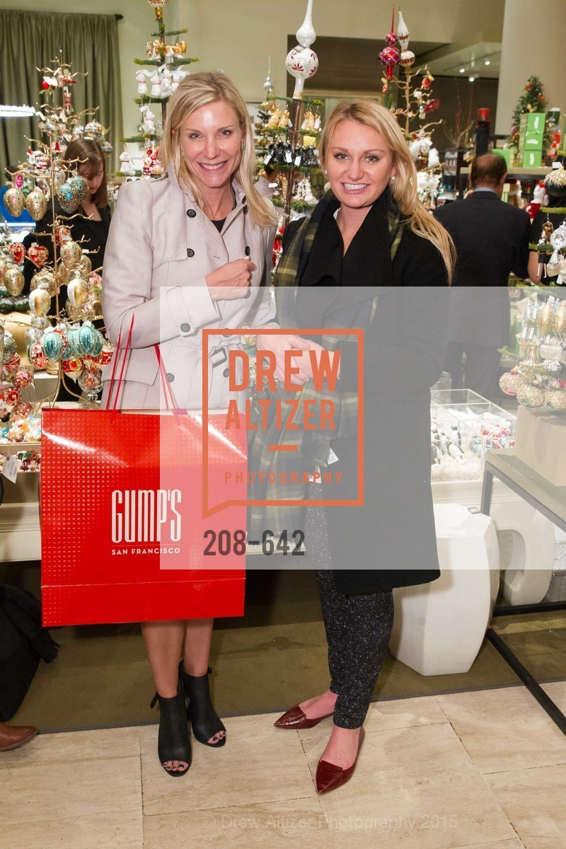 Jill Burns, Kate Canty, Private Holiday Shopping Night presented by Gump's and Domino magazine, Gump's. 135 Post Street, December 10th, 2015,Drew Altizer, Drew Altizer Photography, full-service agency, private events, San Francisco photographer, photographer california