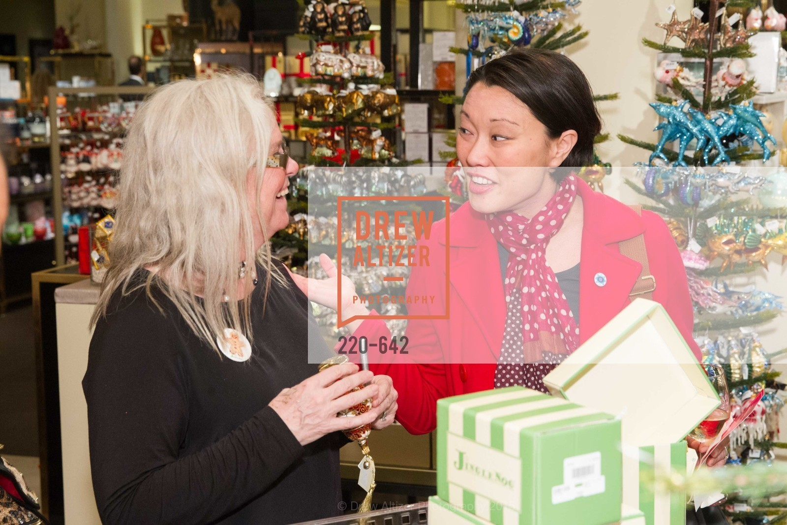Christina White, Private Holiday Shopping Night presented by Gump's and Domino magazine, Gump's. 135 Post Street, December 10th, 2015,Drew Altizer, Drew Altizer Photography, full-service agency, private events, San Francisco photographer, photographer california