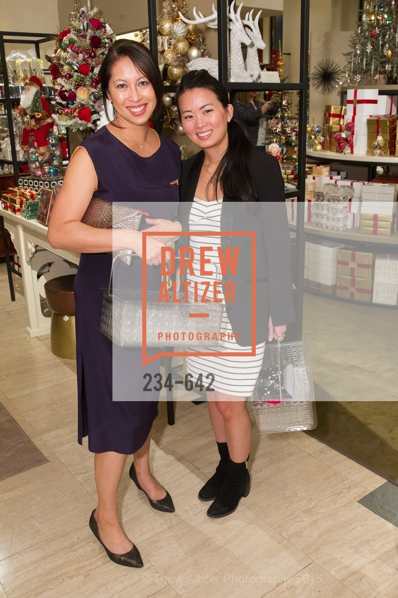 Joyce Lee, Kat Seto, Private Holiday Shopping Night presented by Gump's and Domino magazine, Gump's. 135 Post Street, December 10th, 2015,Drew Altizer, Drew Altizer Photography, full-service agency, private events, San Francisco photographer, photographer california