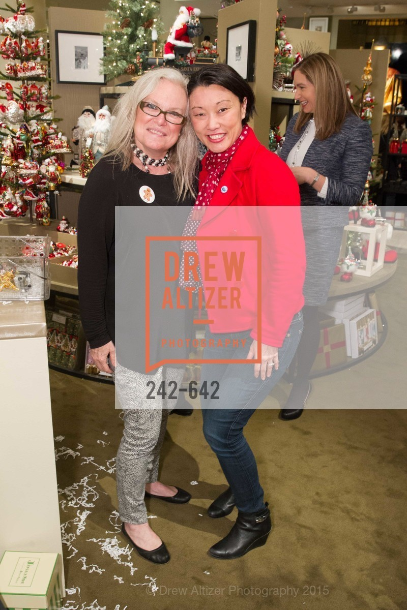 Melissa Byrne, Christina White, Private Holiday Shopping Night presented by Gump's and Domino magazine, Gump's. 135 Post Street, December 10th, 2015,Drew Altizer, Drew Altizer Photography, full-service event agency, private events, San Francisco photographer, photographer California