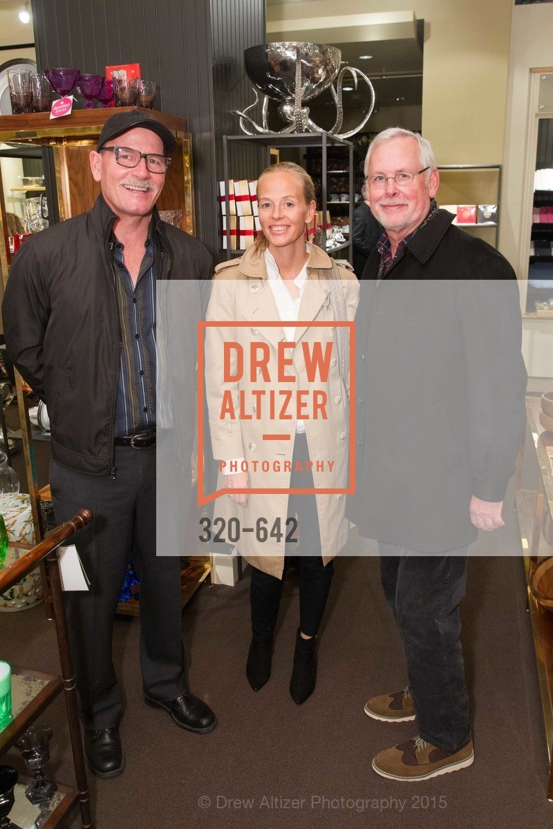 Raf Bethel, Ertha Bethel, Paul Hallinam, Private Holiday Shopping Night presented by Gump's and Domino magazine, Gump's. 135 Post Street, December 10th, 2015,Drew Altizer, Drew Altizer Photography, full-service agency, private events, San Francisco photographer, photographer california