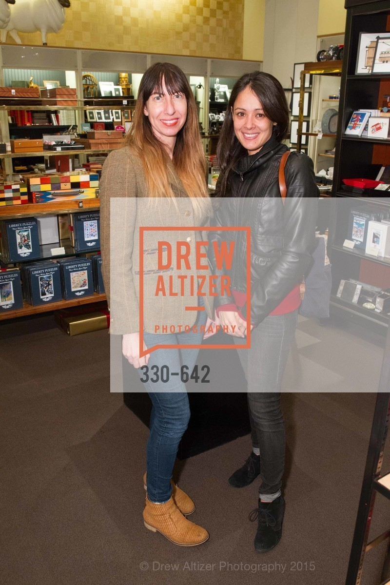 Bridget Ossman, Christine Niss, Private Holiday Shopping Night presented by Gump's and Domino magazine, Gump's. 135 Post Street, December 10th, 2015,Drew Altizer, Drew Altizer Photography, full-service agency, private events, San Francisco photographer, photographer california