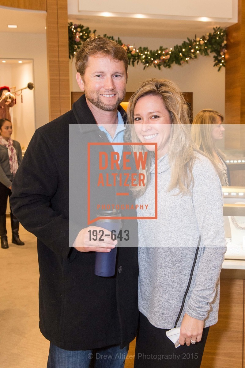 Eric Edwards, Susan Edwards, Shreve & Co & Holiday Event, Shreve & Co. 329 Stanford Shopping Center, December 10th, 2015,Drew Altizer, Drew Altizer Photography, full-service agency, private events, San Francisco photographer, photographer california