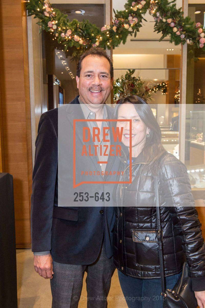 Jim Sanchez, Becky Lopez, Shreve & Co & Holiday Event, Shreve & Co. 329 Stanford Shopping Center, December 10th, 2015,Drew Altizer, Drew Altizer Photography, full-service agency, private events, San Francisco photographer, photographer california