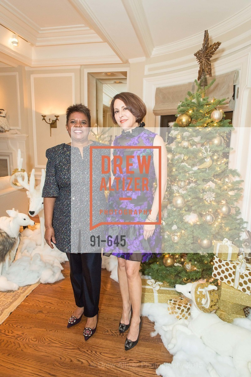 Murlene Randle, Susan Atherton, Atherton Holiday Party, Private Residence, December 12th, 2015,Drew Altizer, Drew Altizer Photography, full-service agency, private events, San Francisco photographer, photographer california