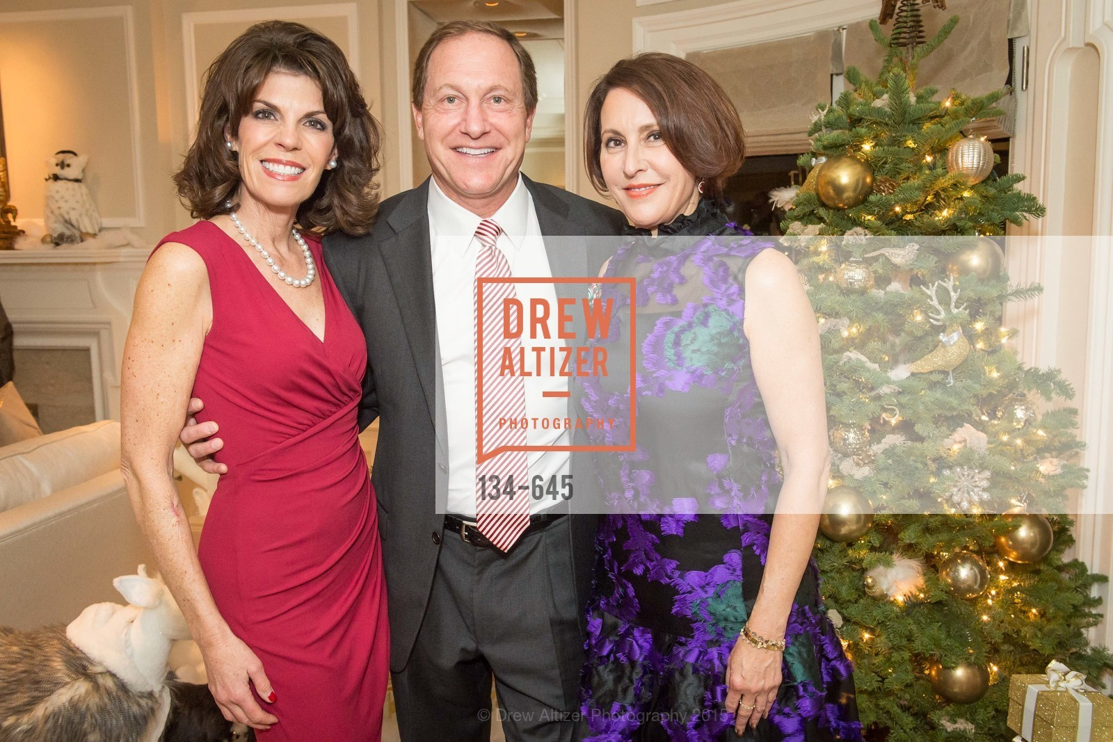 Julie Douglas, Mark Douglas, Susan Atherton, Atherton Holiday Party, Private Residence, December 12th, 2015,Drew Altizer, Drew Altizer Photography, full-service agency, private events, San Francisco photographer, photographer california