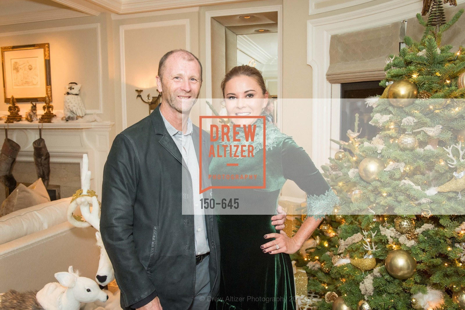 Gyn Davies, Judy Davies, Atherton Holiday Party, Private Residence, December 12th, 2015,Drew Altizer, Drew Altizer Photography, full-service agency, private events, San Francisco photographer, photographer california