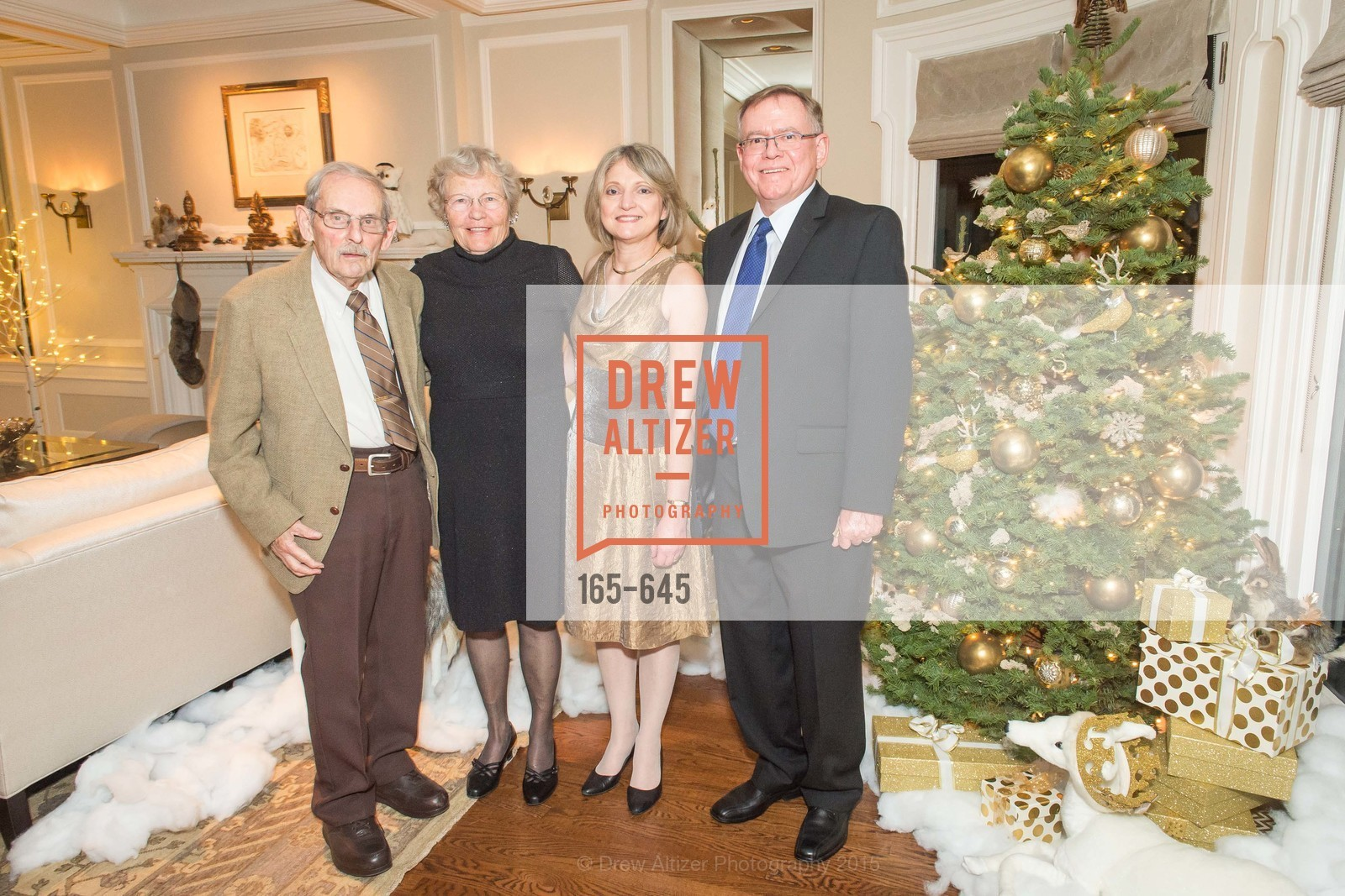Clarion Clements, Jean Shuh, Wendy Botha, Louie Botha, Atherton Holiday Party, Private Residence, December 12th, 2015,Drew Altizer, Drew Altizer Photography, full-service agency, private events, San Francisco photographer, photographer california