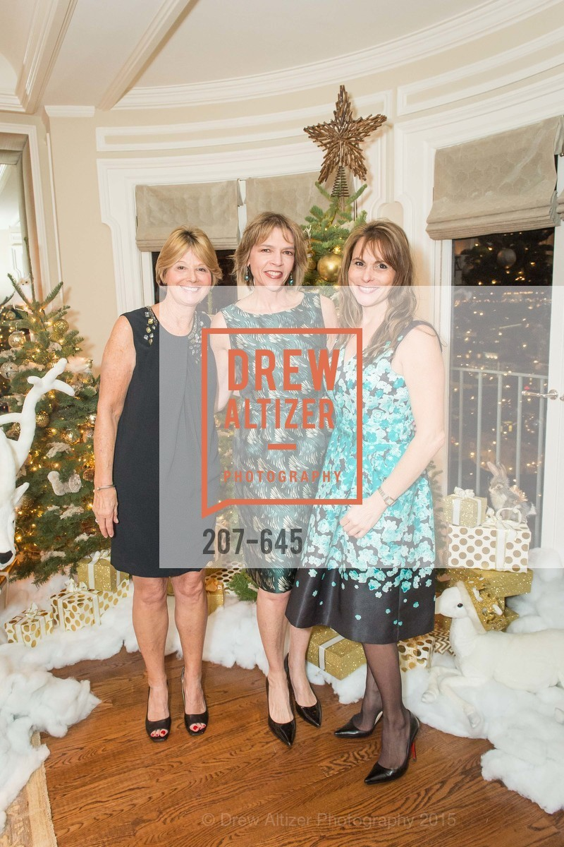 Debbie Rivard, Beth Schnitzer, Teresa Rodriguez, Atherton Holiday Party, Private Residence, December 12th, 2015,Drew Altizer, Drew Altizer Photography, full-service agency, private events, San Francisco photographer, photographer california