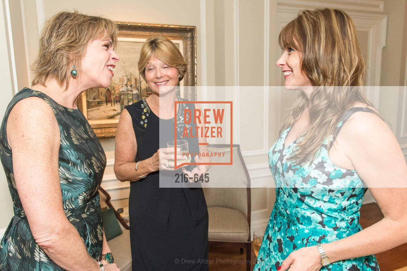 Beth Schnitzer, Debbie Rivard, Teresa Rodriguez, Atherton Holiday Party, Private Residence, December 12th, 2015,Drew Altizer, Drew Altizer Photography, full-service agency, private events, San Francisco photographer, photographer california