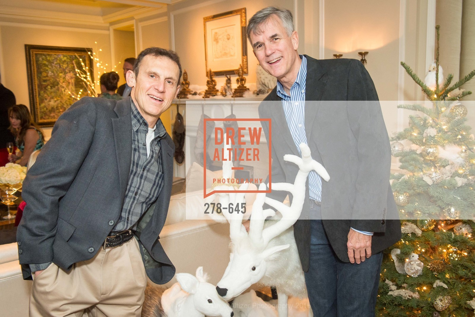 Paul Morrell, Kevin Gardner, Atherton Holiday Party, Private Residence, December 12th, 2015