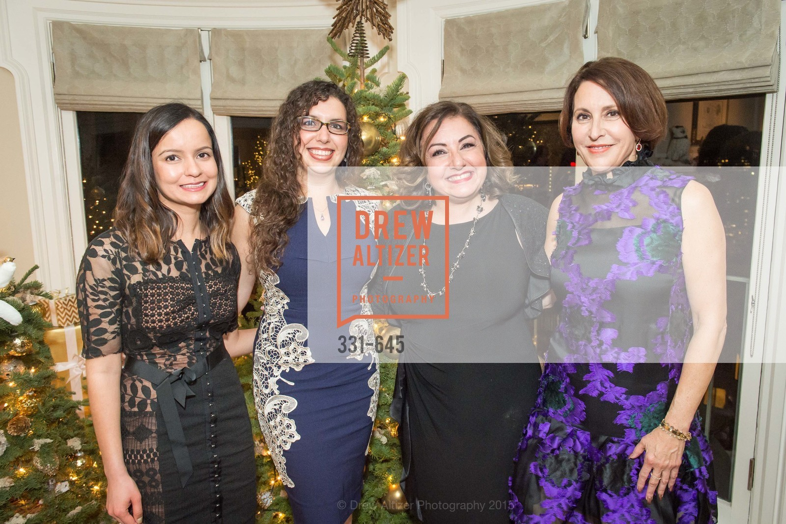 Sargam Atherton, Shanna Atherton, Tracy Atherton, Susan Atherton, Atherton Holiday Party, Private Residence, December 12th, 2015,Drew Altizer, Drew Altizer Photography, full-service event agency, private events, San Francisco photographer, photographer California