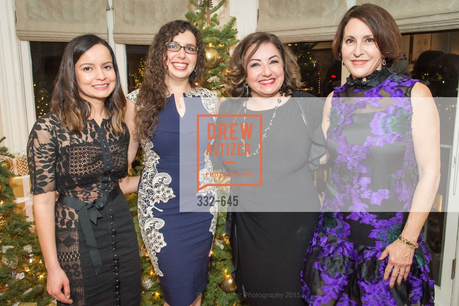 Sargam Atherton, Shanna Atherton, Tracy Atherton, Susan Atherton, Atherton Holiday Party, Private Residence, December 12th, 2015,Drew Altizer, Drew Altizer Photography, full-service agency, private events, San Francisco photographer, photographer california