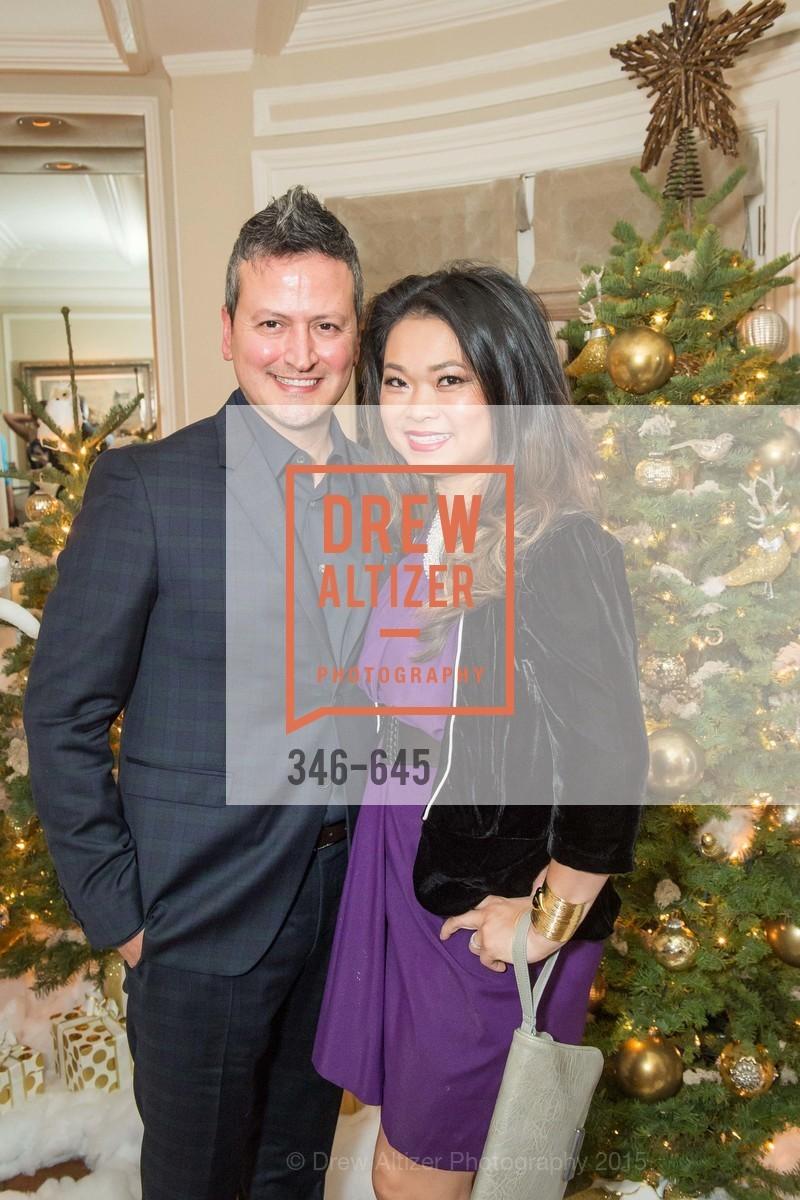 Edward Teran, Lillian Teran, Atherton Holiday Party, Private Residence, December 12th, 2015