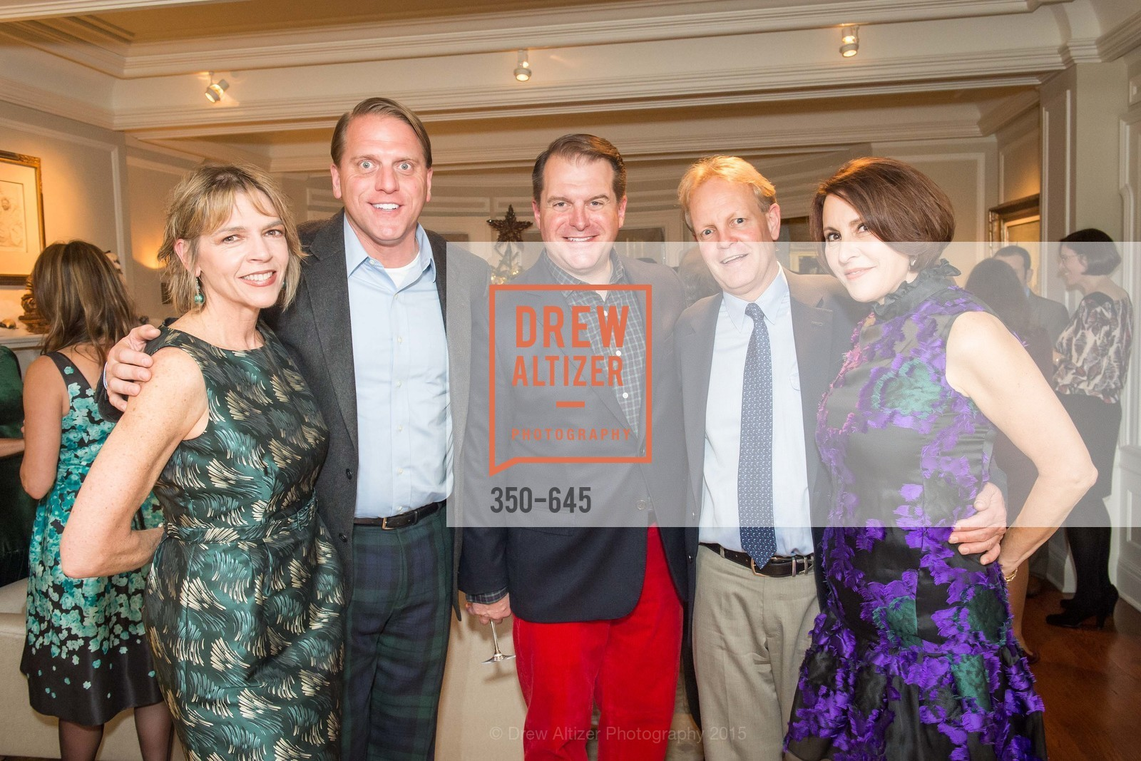Beth Schnitzer, Scott Miller, Doug Piper, David Shuh, Susan Atherton, Atherton Holiday Party, Private Residence, December 12th, 2015,Drew Altizer, Drew Altizer Photography, full-service event agency, private events, San Francisco photographer, photographer California