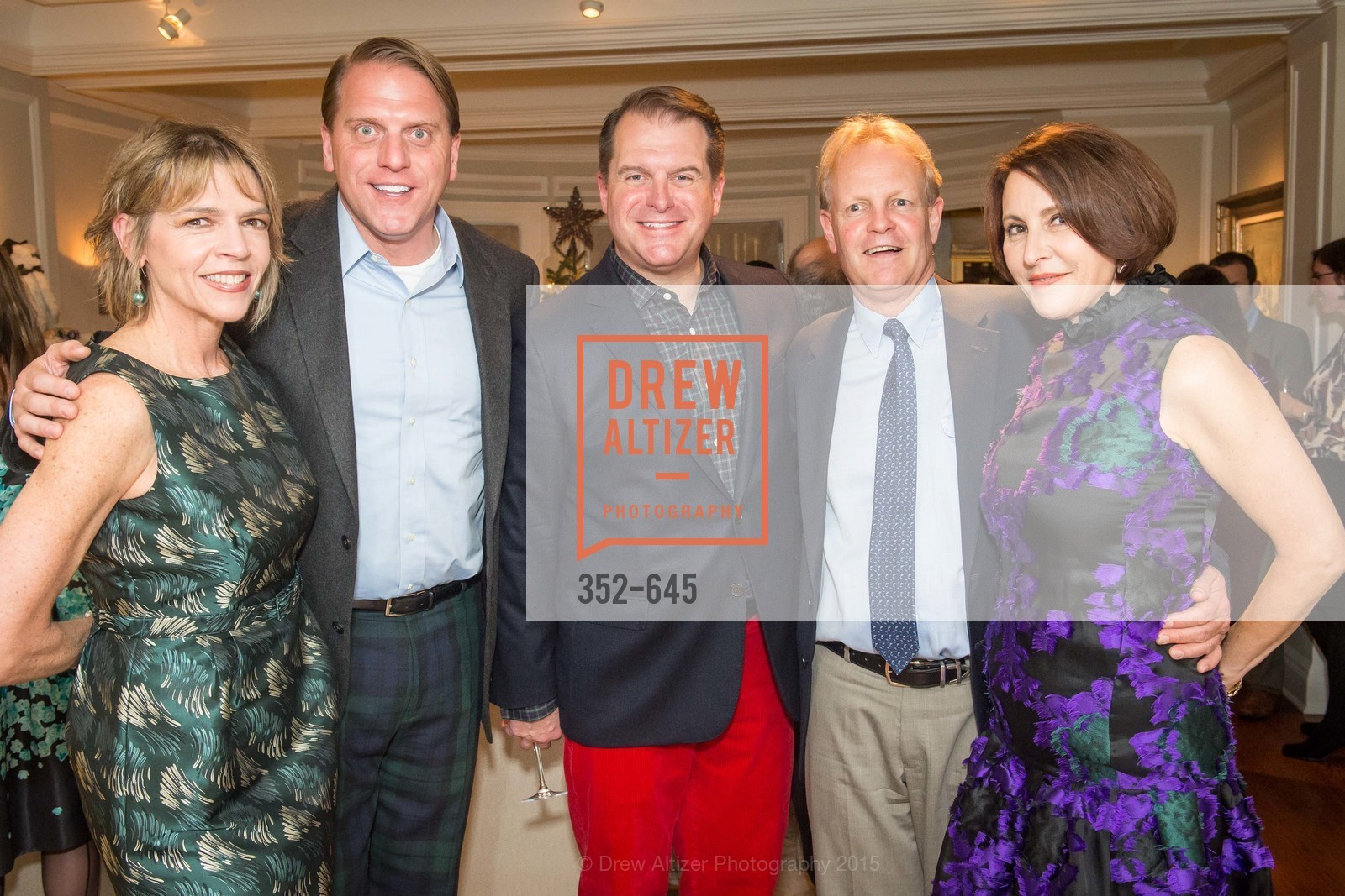Beth Schnitzer, Scott Miller, Doug Piper, David Shuh, Susan Atherton, Atherton Holiday Party, Private Residence, December 12th, 2015,Drew Altizer, Drew Altizer Photography, full-service agency, private events, San Francisco photographer, photographer california