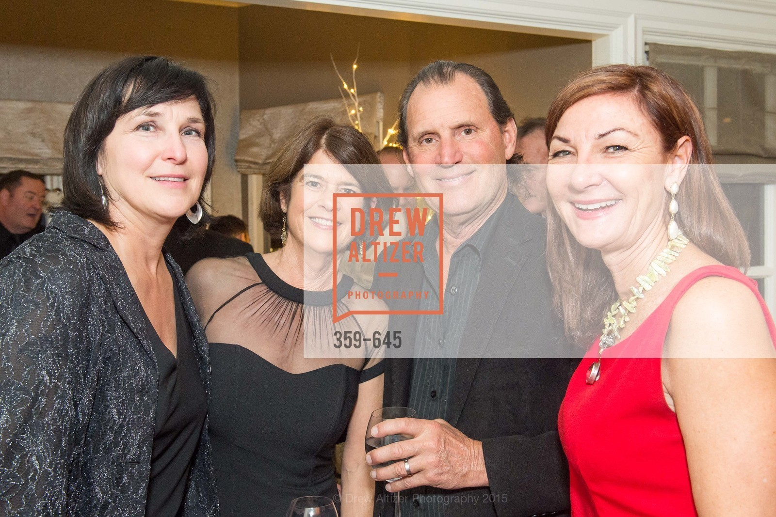Lorraine Chiatello, Patricia Foerster, Bill English, Susie Damilano, Atherton Holiday Party, Private Residence, December 12th, 2015,Drew Altizer, Drew Altizer Photography, full-service agency, private events, San Francisco photographer, photographer california